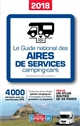 GUIDE NATIONAL DES AIRES DE SERVICES CAMPING-CARS 2018